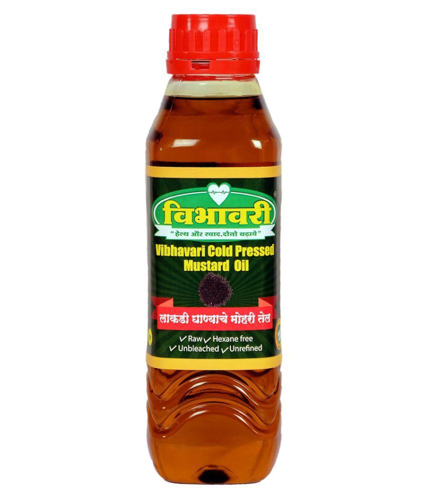 Vibhavari Mustard Oil Cold Pressed 1 L