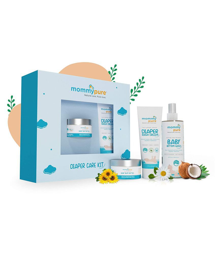 Mommypure Natural Baby Kit 300 g Pack of 3