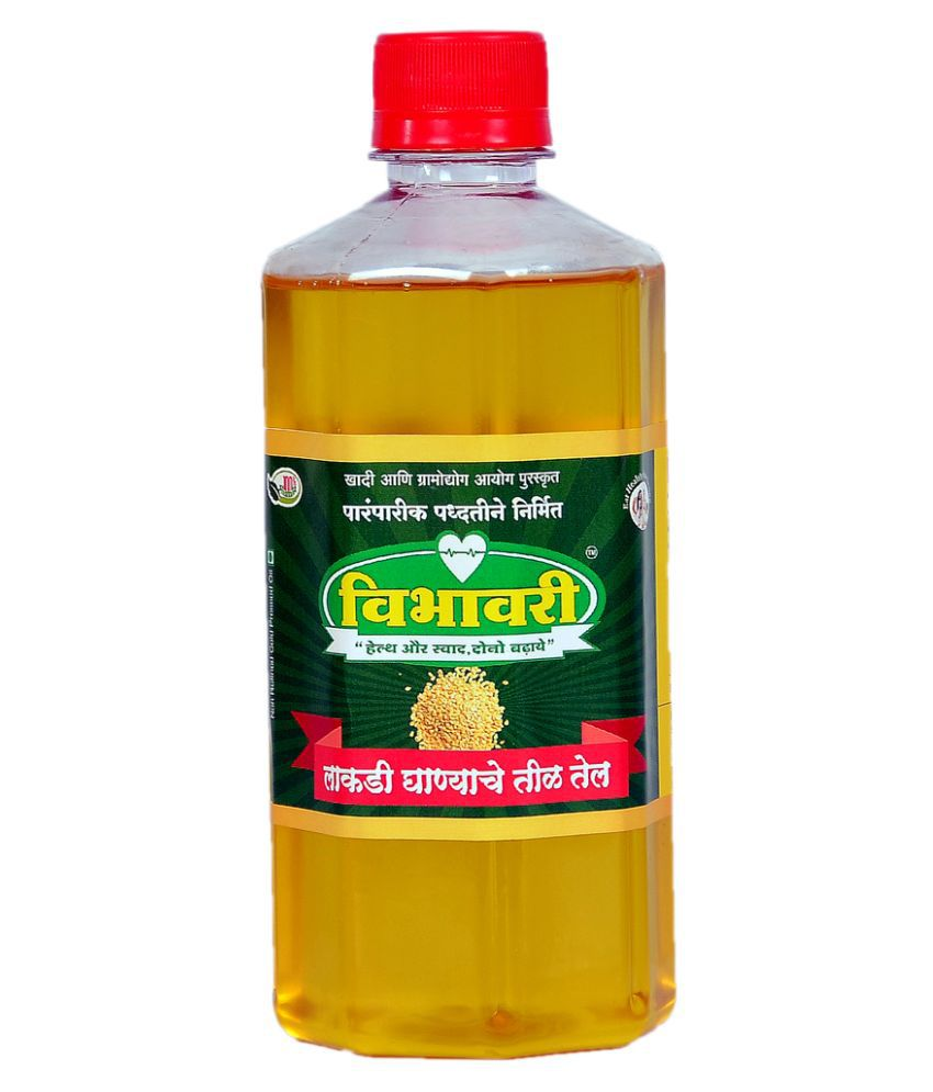 Vibhavari Virgin Sesame Oil 500 mL