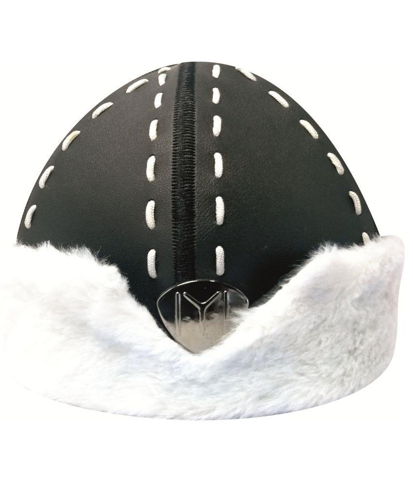Ertugrul Ghazi Cap Black Fabric Caps