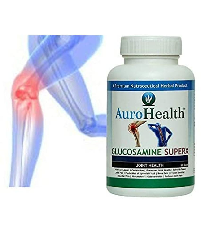 URZANO Glucosamine Sulphate GLUCOSAMINE Preserves Joint health 60 no.s
