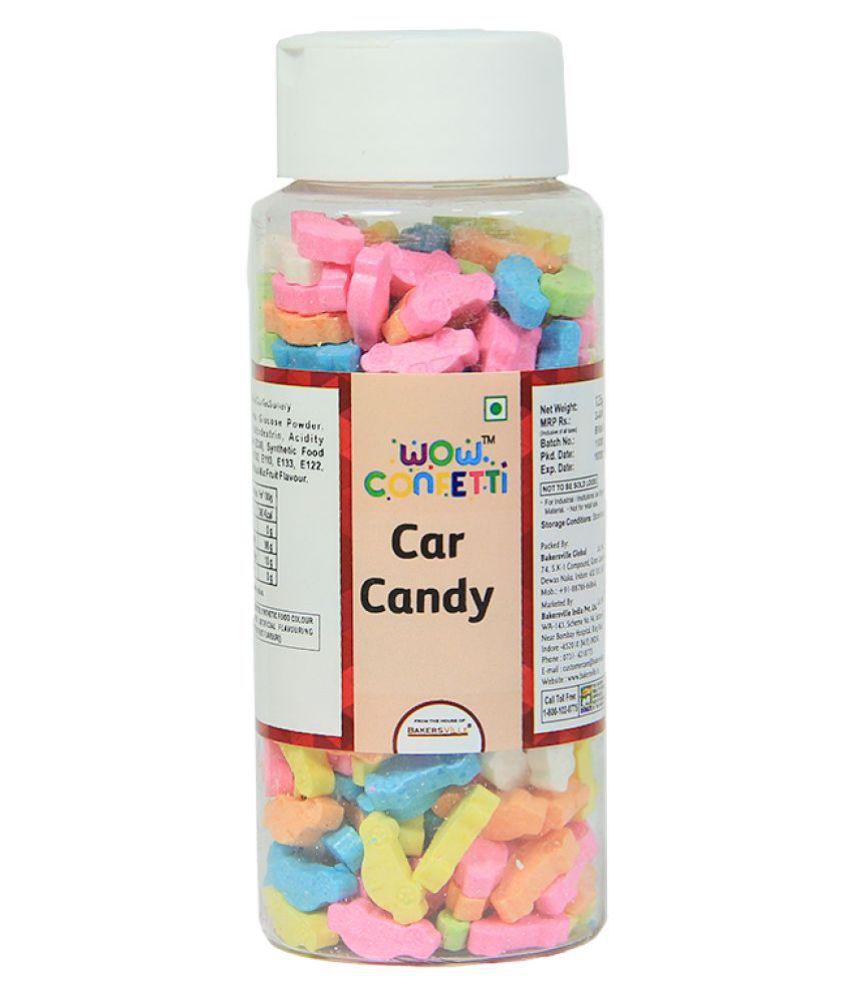 Wow confetti Car Candy, 125 g
