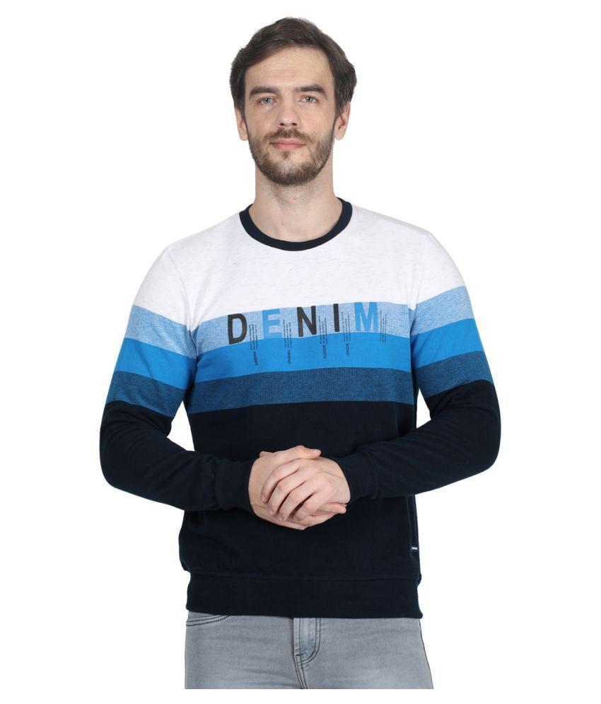 Monte Carlo White Sweatshirt