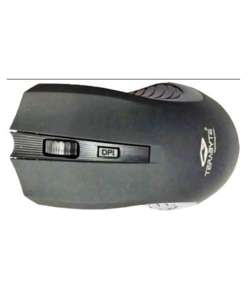 Terabyte DIVINE TB   WM   042 Black Wireless Mouse