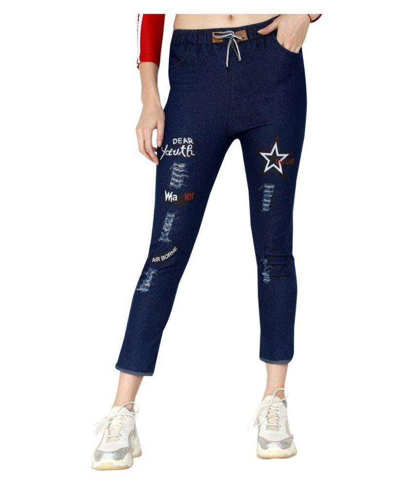 fortuniq Denim Jeans - Blue