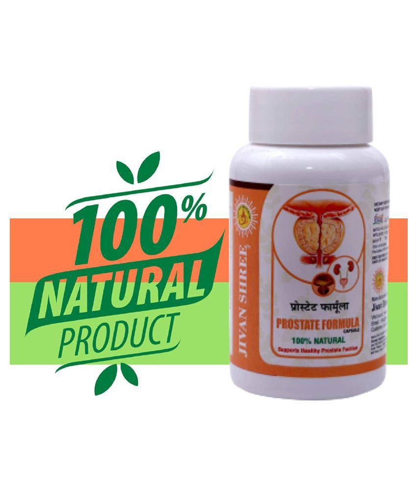 JIVAN SHREE Prostate Formula Helps In Kidney 60 Capsule 835 mg
