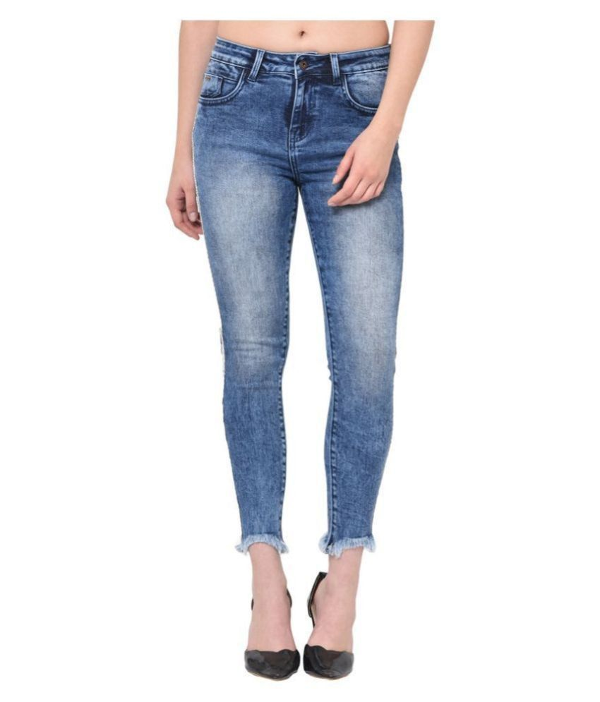2Bme Cotton Jeans - Blue