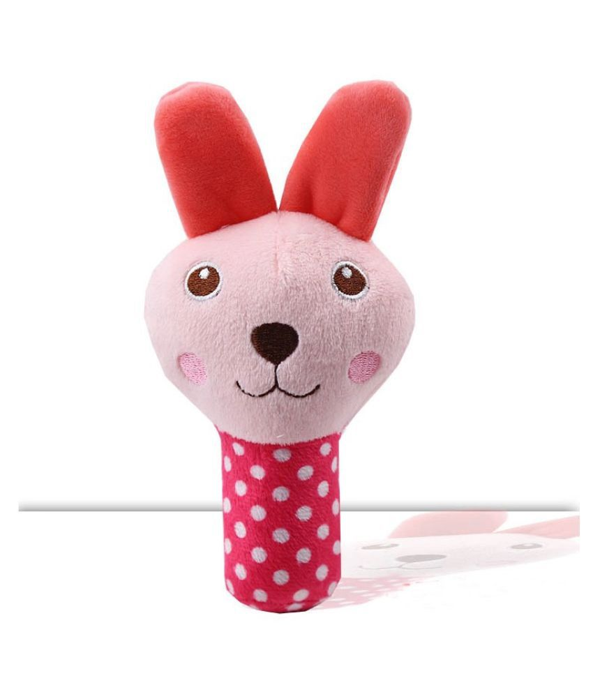 KUTKUT Animal Cartoon stuffed Plush Squeak  Sound ChewToy for Dogs/Cats