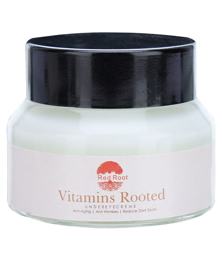RED ROOT UNDER EYE CREAM FOR DARK CIRCLES AND PUFFINESS 30G Eye Mask 30 g