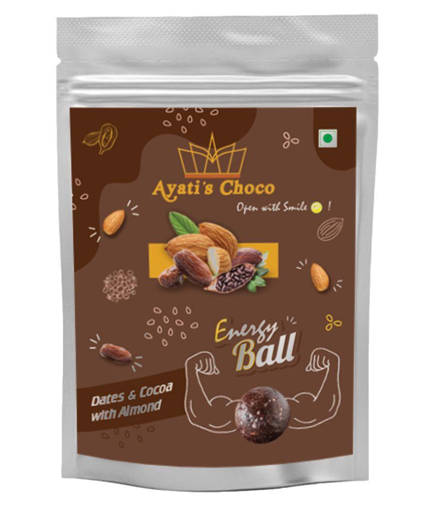 Ayati's choco Chocolate Box Almond Energy Ball 60 gm Pack of 6