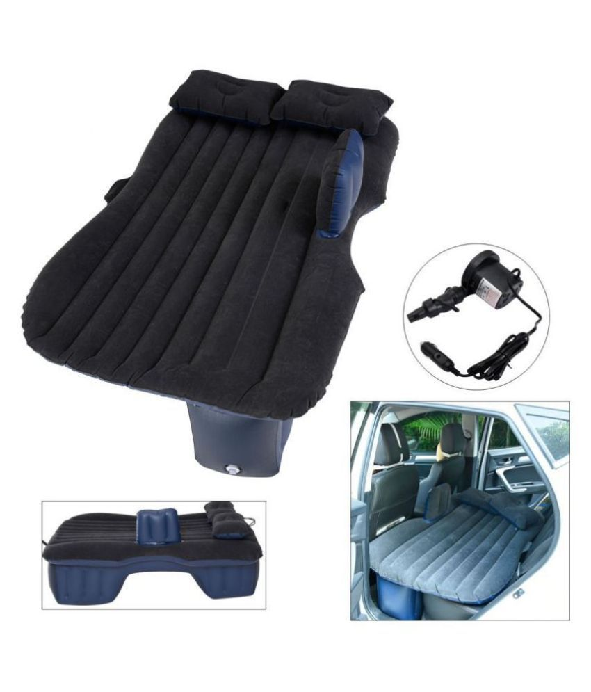Car Travel Inflatable Sofa Mattress Air Bed Cushion Camping Bed Rear Seat With Pillow And Pump