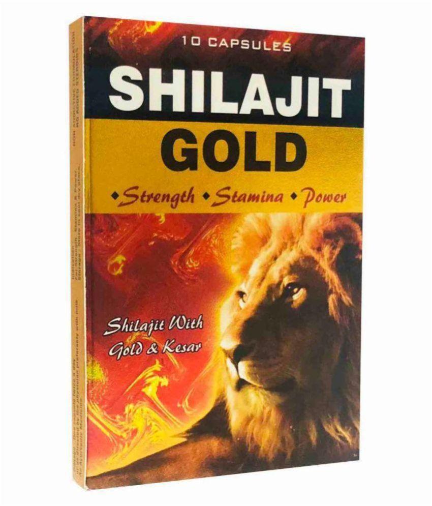 G&G PHARMACY PB Shilajit Gold Capsule 10x2= 20 Capsule 10 no.s Pack Of 2