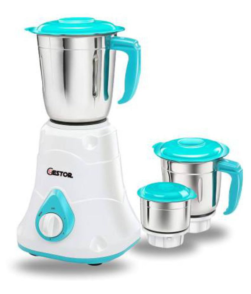 GESTOR SPICY DLX 600 Watt 3 Jar Mixer Grinder
