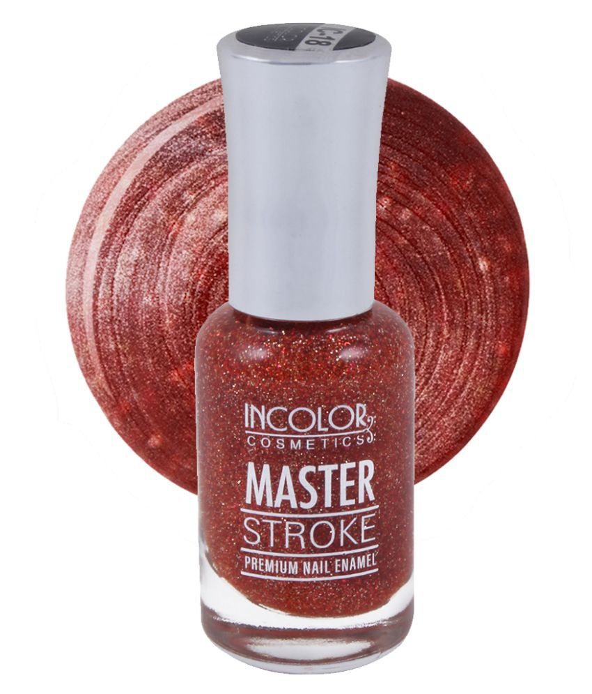 Incolor Incolor Nail Polish Shade  18 Rust Chrome 10 mL