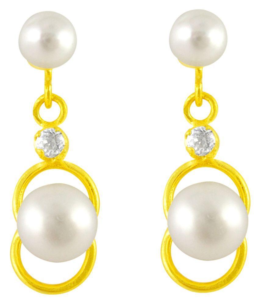 Stylish Superb  Pearl Earrings By KNK Jewellery