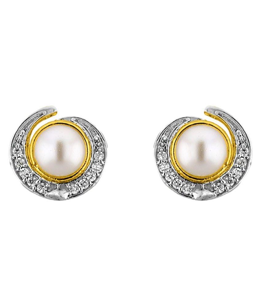 Stylish & Trendy good-looking CZ- Earrings By KNK Jewellery