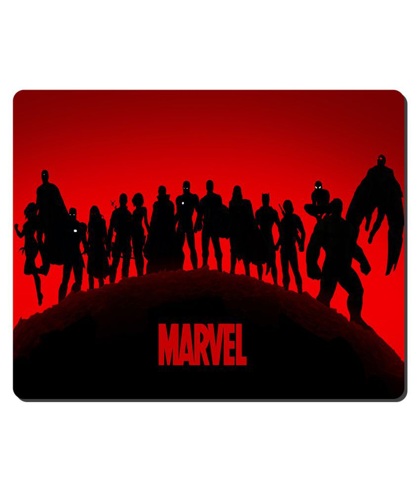 Ryca Marvel Studios 3D Design High Resolution Mouse pad HD Print AntiSkid base High Speed Quality Mousepad