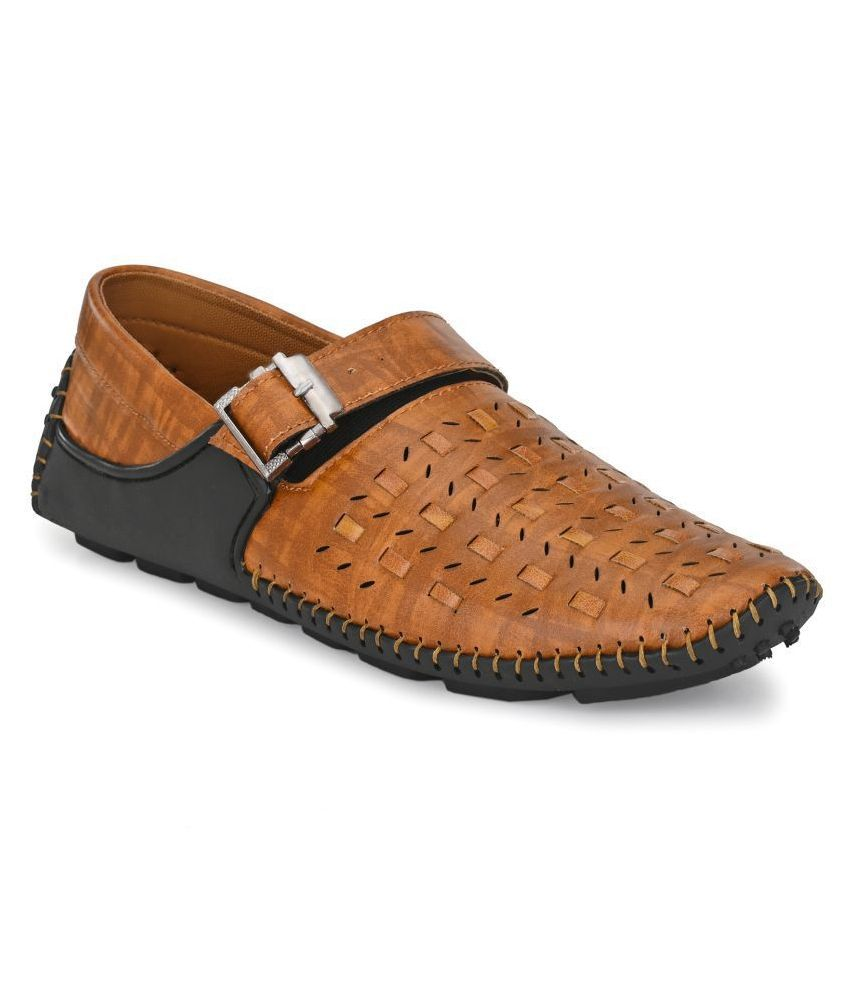 Sir Corbett Lifestyle Tan Casual Shoes