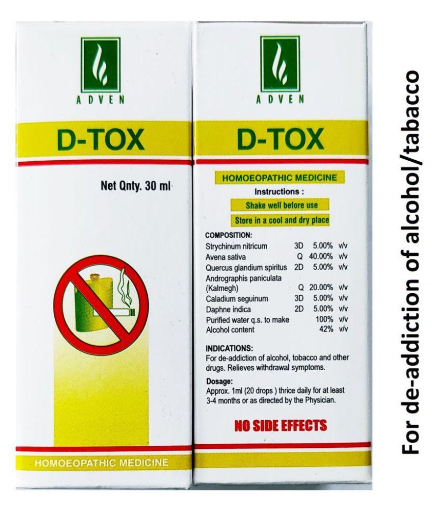 Adven Biotech D-Tox Drops Liquid 30 ml Pack Of 4