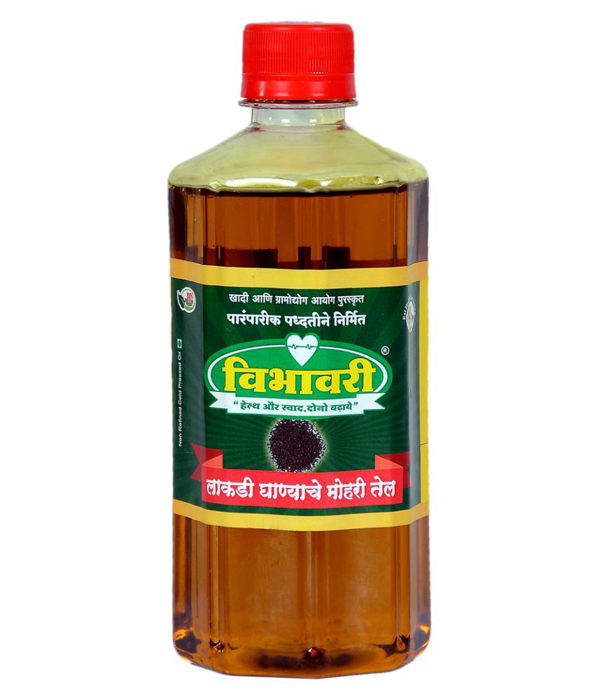 Vibhavari Mustard Oil Cold Pressed 5 L