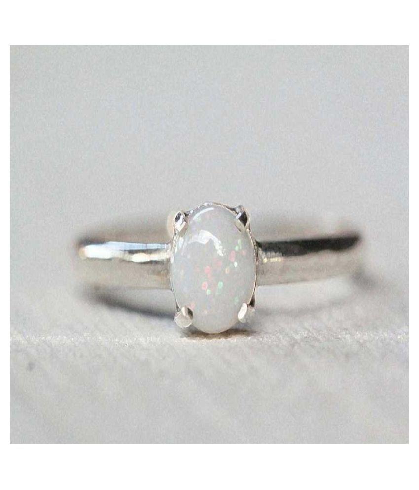 Natural Lab Certified 8.25 carat  Original OPAL  Ring for unisex by Ratan Bazaar\n