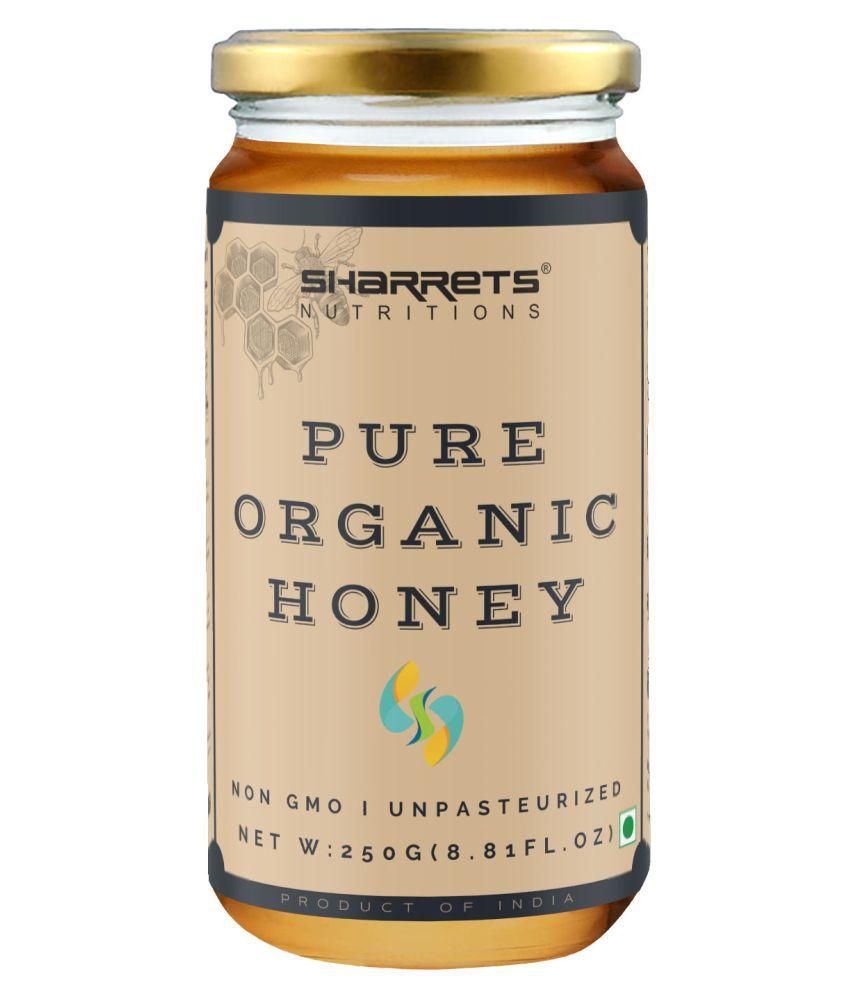 SHARRETS NUTRITIONS Pure Organic Honey 250