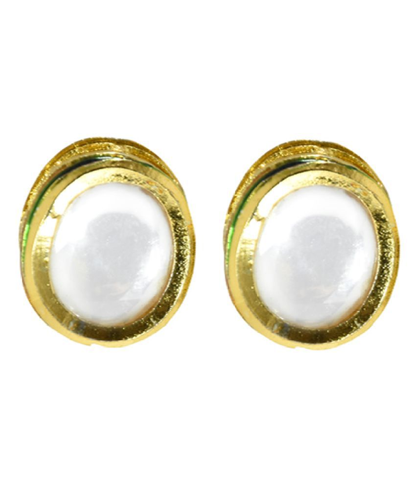 KUNDAN STUD EARRING FOR WOMEN