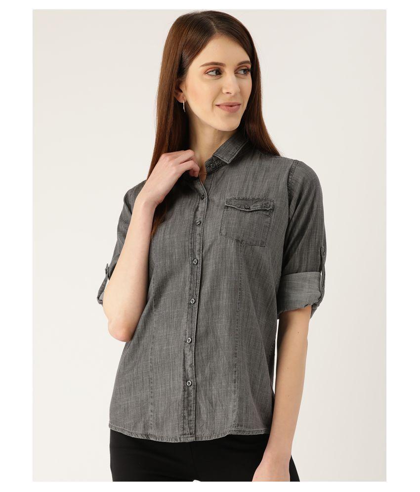 The Dry State Grey Denim Shirt