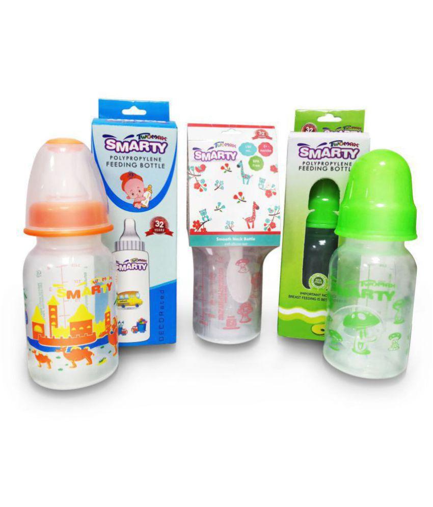Smarty Twomax BPA free 150ml Baby Feeding Bottle