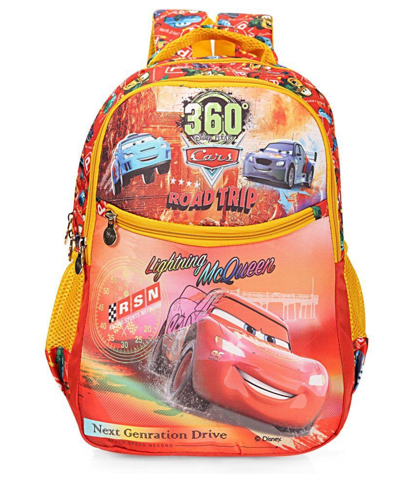 Disney Orange Fabric College Bag