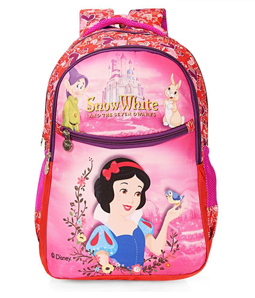 Disney Pink Fabric College Bag