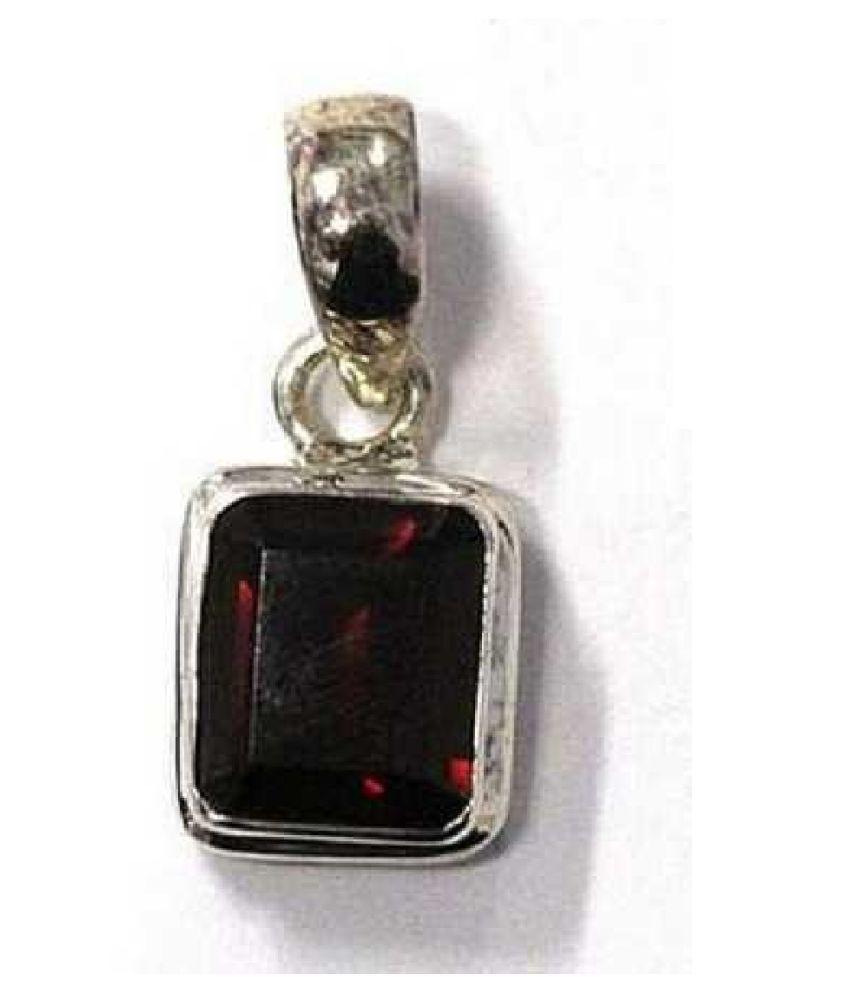 Natural Lab Certified 5.5 carat 100% Original Hessonite (Gomed)  Pendant for unisex by KUNDLI GEMS\n