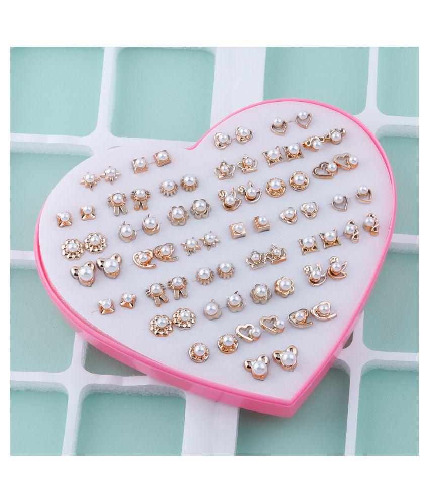 Stud Earring  Delicate look Stud Earring Set of 36  for Women girl