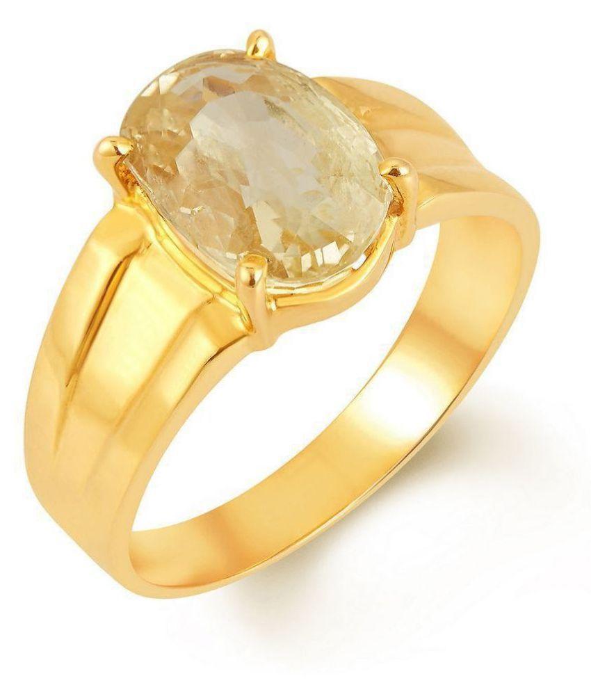 Yellow Sapphire 9.25 Ratti Pukhraj Stone