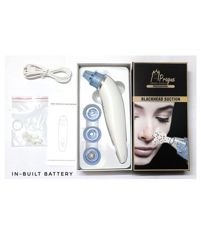 Prague Face Acne, Pimples, Whitead & Blackhead Remover Vacuum Suction Cleanser 100 mL