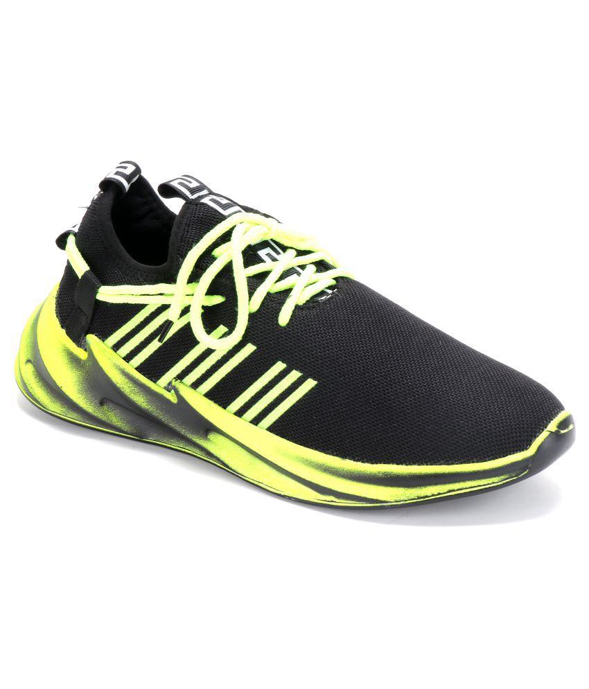 LECHIC Green Running Shoes
