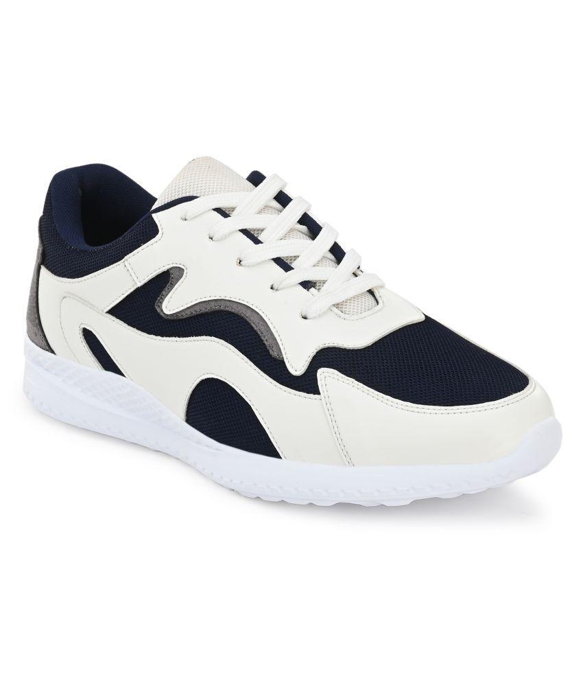 Fentacia White Running Shoes