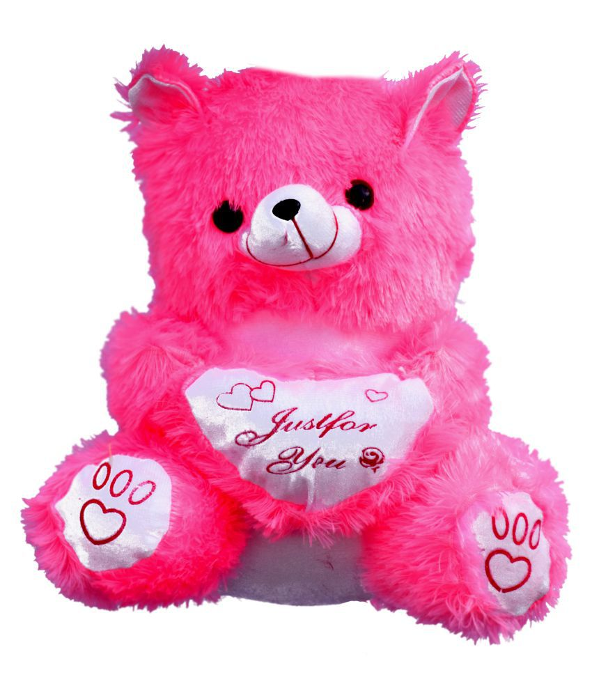 Lovable cute Heart printed soft toy  35Cm