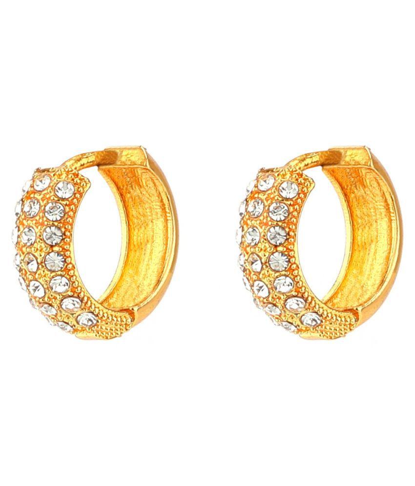 Gautam Bali Simple and Regular wear Bali with Diamond For women and Girls (MM1)