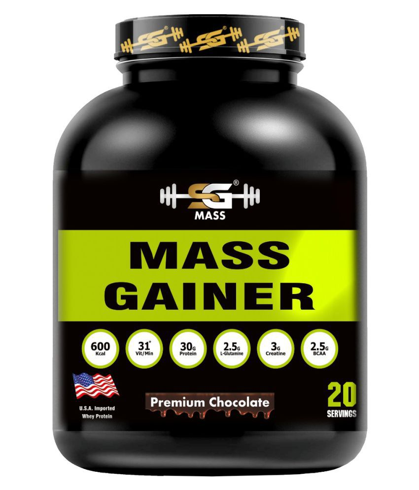 SG Mass health and nutrition 3 kg Mass Gainer Powder