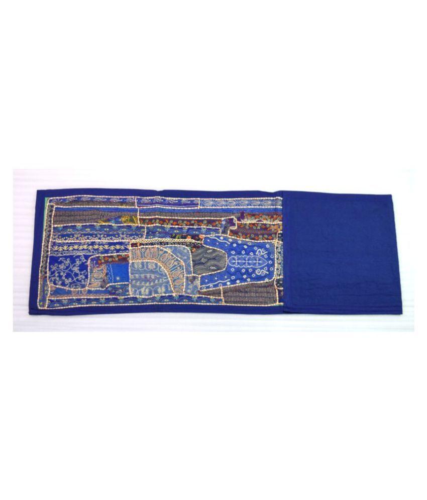 Global Art Traders 10 Seater Cotton Single Table Runner