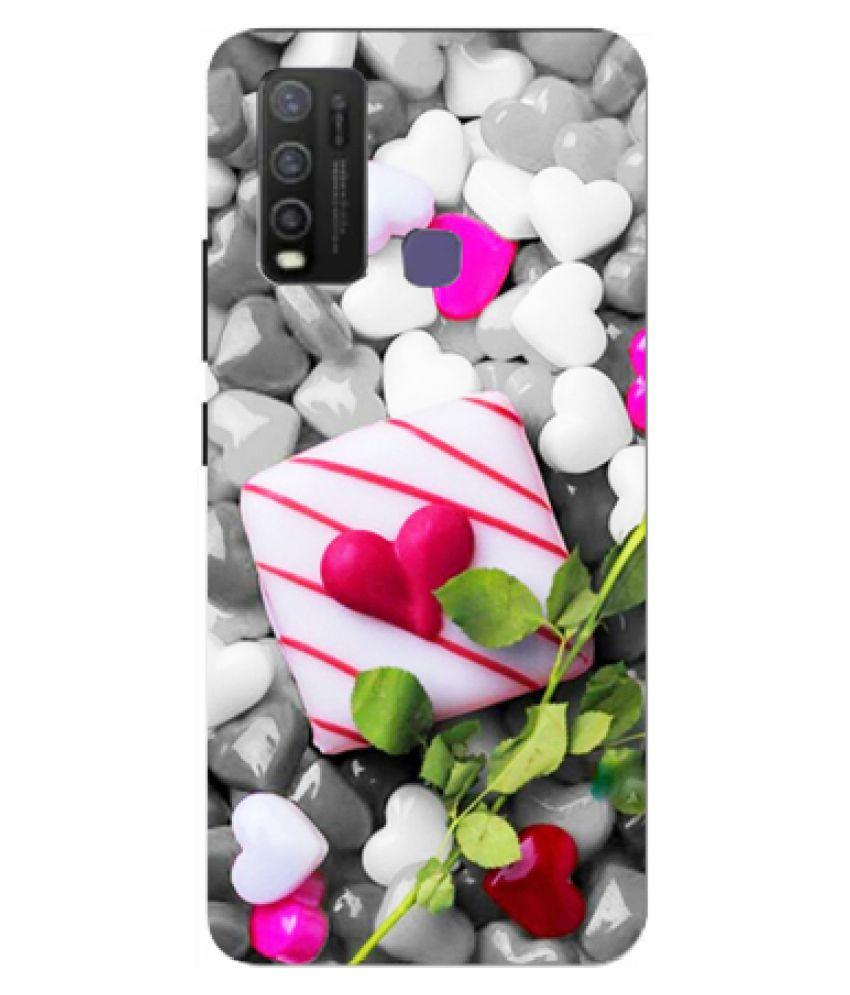 Vivo Y50 Printed Cover By Tootena Smooth and attractive