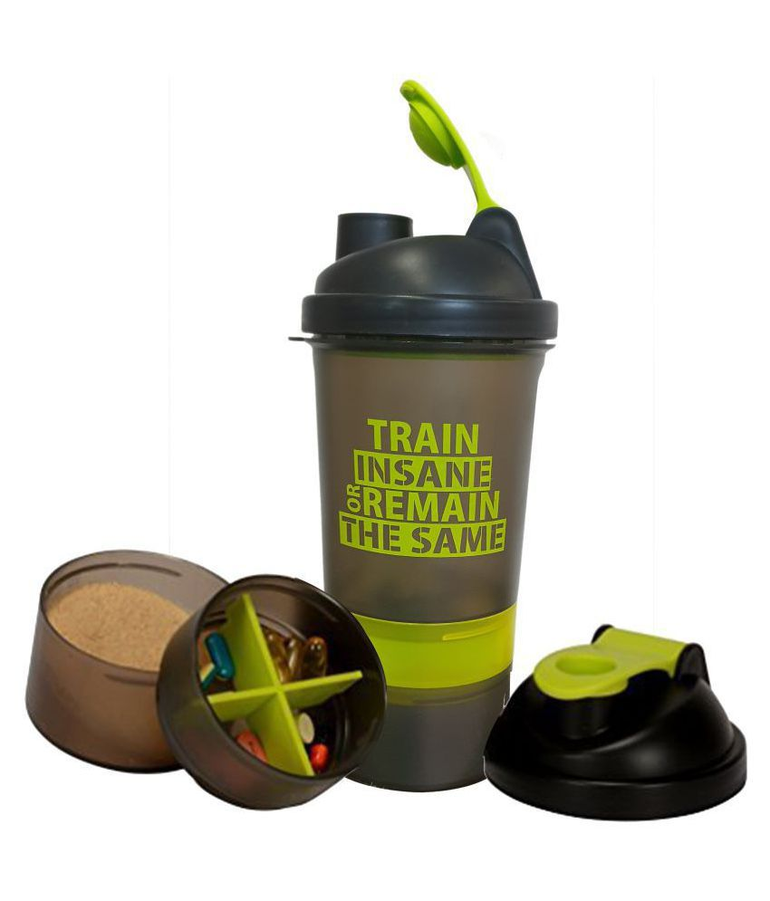 GHC 3-Compartment Shaker Bottle 700ml