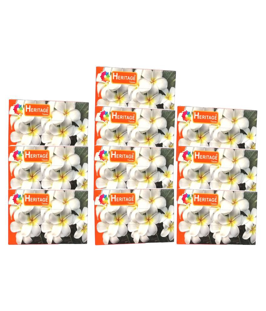 Heritage Paper Face Tissues