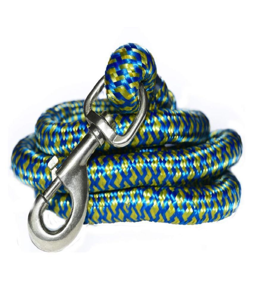 JSK Giant and Strong Dogs Heavy Rope Leash with Hook 22 mm (Color May Vary)