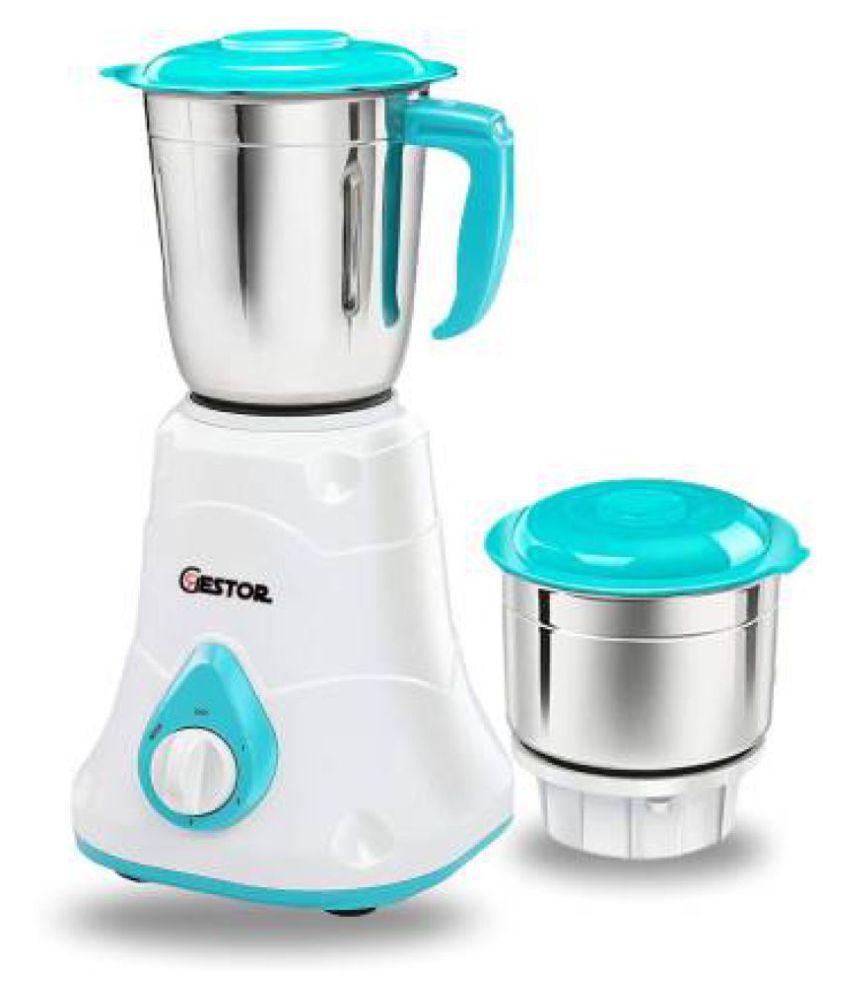 GESTOR SPICY DLX 550 Watt 2 Jar Mixer Grinder