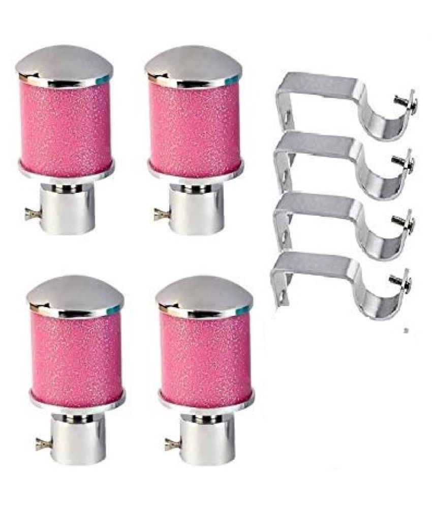 Unilink Set of 8 Zinc Single Rod Bracket