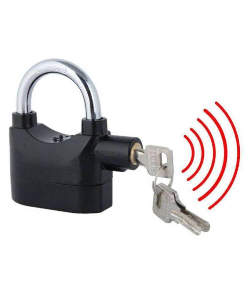 XBOOM Anti Theft Burglar Alarm Padlock Electronic Alarm Lock Security Siren FOR ALL TYPE USE