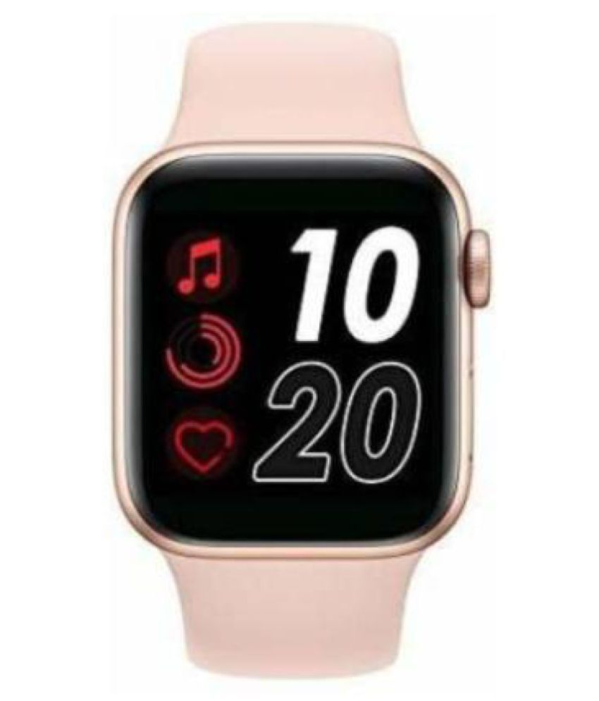 BIG MART27 T500 Smartwatch(IOS+Android)(4G + GPS + Waterproof+ Bluetooth Calling) - pink