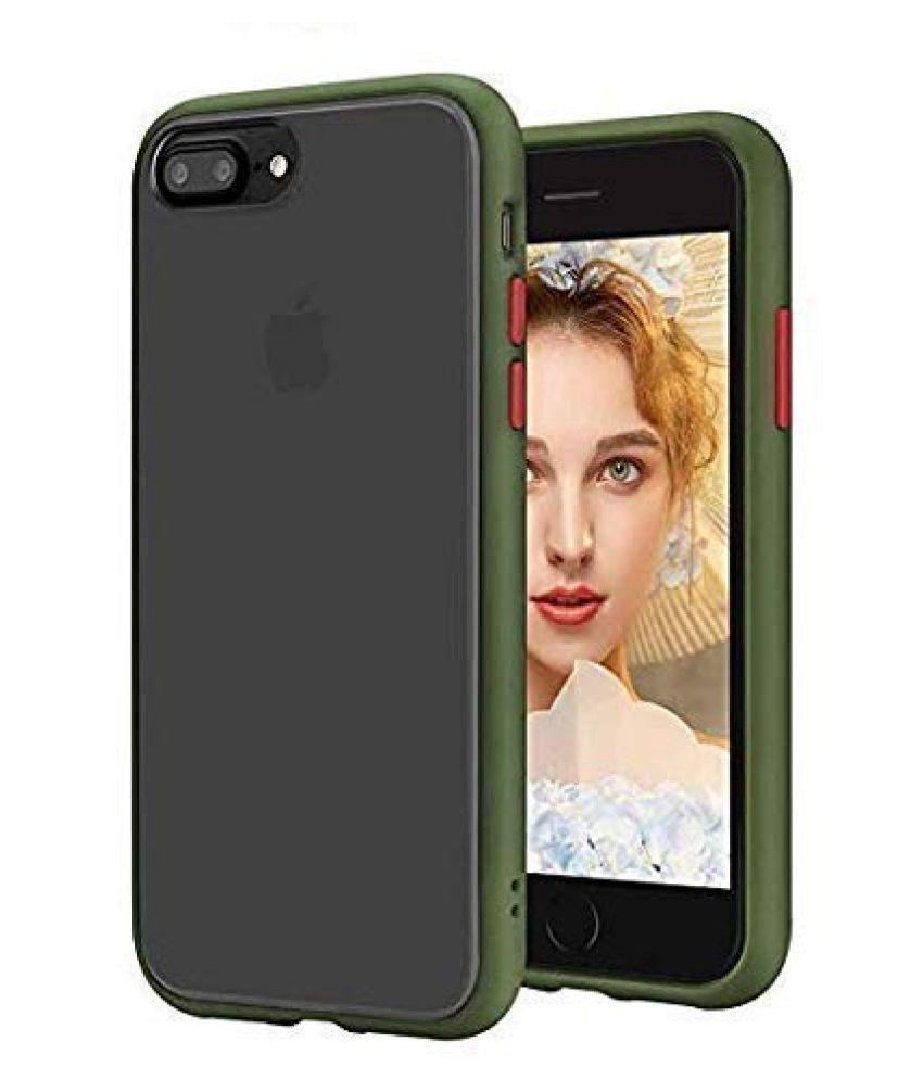 Apple Iphone 7 Plus Shock Proof Case Vikefon   Assorted Smoke Matte Back Cover